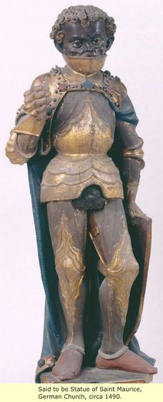 Saint Maurice Of Germany. Study the history they don't teach in schools, the real history.