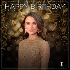 Happy Birthday to the gorgeous star of The #ImitationGame and #BeginAgain #KeiraKnightley.