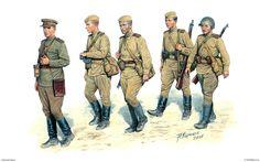 Figura 35045 artillería divisional en su escritorio | MiniArt - BoxArts Fondos de Guerra