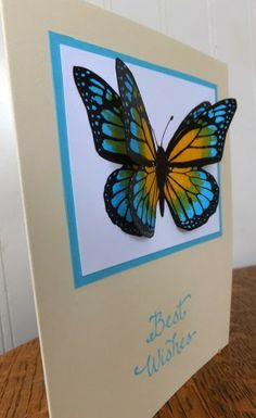 Butterfly colored with Spectrum Noir markers