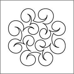 "Urban Elementz: Leap Frog (Lily Pad) Block #3 - Stencil 7"":"