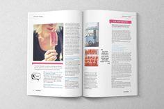 Countlan Magazine by Stuart Woods, via Behance