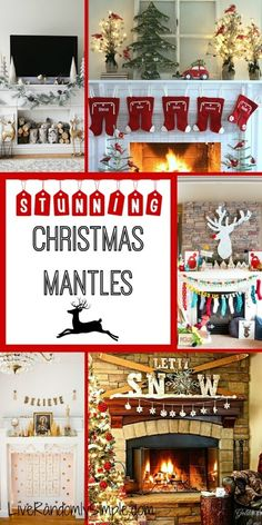 20+ Uniquely Stunning Mantles for Christmas | Live Randomly Simple
