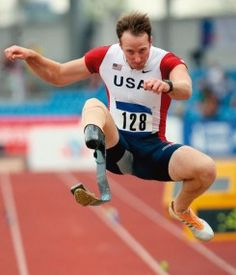 """""""Never quit chasing the rabbit."""" -- Paralympian Casey Tibbs"""