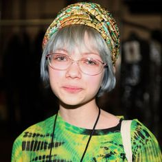 Tavi Gevinson- Gray hair looks great if you're only 14.