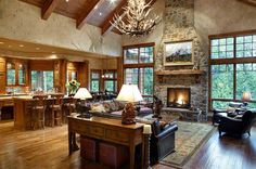 farmhouse interior design homeadore, ranch design ideas light ranch style living room interior, 1960 39 s updated ranch style home tour debbiedoos, ranch house interior design kitchen house design and, House Plans And More, Luxury House Plans, Luxury Houses, Modern Houses, Craftsman House Plans, Country House Plans, Country Living, Craftsman Ranch, Craftsman Homes
