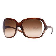 Versace sunglasses Model number 4114 color brown 101/13 59-16.. Versace case Versace Accessories Sunglasses