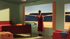 From the canvas to the screen, Director Gustav Deutsch interprets the iconic paintings of Edward Hopper in the film Shirley: Visions of Reality. Deutschs architectural background allowed for accura Friedrich Nietzsche, Shirley Visions Of Reality, Edward Hopper Paintings, Tableaux Vivants, American Realism, Portrait Studio, Cultural, Art Photography, Narrative Photography
