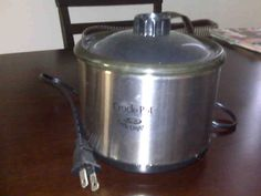 Mini Crock-pot ( For making and keeping dips warm) in Melissa's Garage Sale in Huntington Beach , CA for $10.00. Brand new never been used mini crock-pot. Stainless Steal