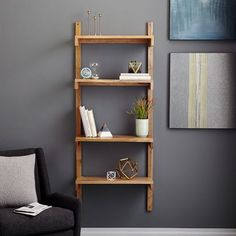 Industrial Storage Wall Shelving + Cabinet Set
