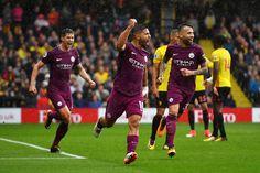 Sergio Agüero anota un hat trick, y el Manchester City, cuenta con 17 goles