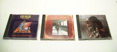 3 Classic Rock CDs Steve Miller Band - George Thorogood - Stevie Ray Vaughn Rock & Roll Classic Rock Blues