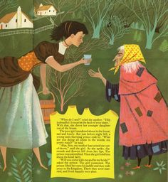 The Big Treasure Book of Fairy Tales retold by Evelyn Andreas, illustrated by Art Seiden.