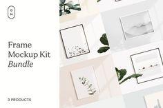 Frame Mockup Kit Bundle by October November on @creativemarket