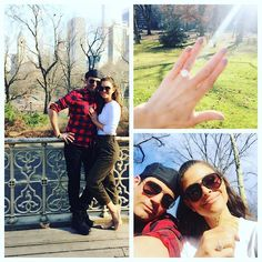 Pin for Later: Maria Menounos's Engagement Ring Is Just as Crazy-Big as Her Proposal Story