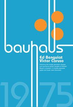Specimen Bauhaus by ~BuGader on deviantART