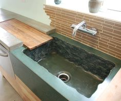 Rough Concrete Sink Concrete Sinks DC Custom Concrete San Diego, CA