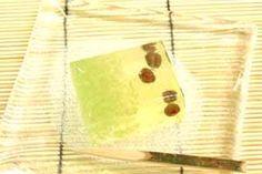 京都・京菓子の老舗 甘春堂 本店[夏のお菓子・棹物菓子・羊羹(ようかん)・工芸菓「ほたる火」(村雨・琥珀・蛍の情景のお菓子)]