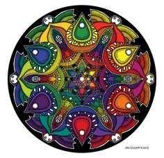 Looking In - Rainbow by *Mandala-Jim on deviantART