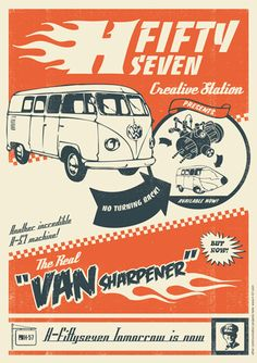 H-57 Van Sharpener Poster