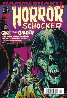 Cover for Horrorschocker (Weissblech Comics, 2004 series) #19 MÄRZ 2009