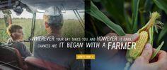 "Americas Farmers ""Where it all began"" #AmericasFarmers"