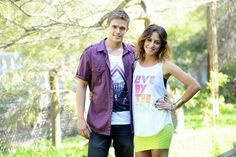 Kyle and Phoebe (Nic and Isabella)