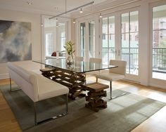 48 best glass dinning table base ideas images on pinterest modern rh pinterest com glass dining room table with marble base glass dining room table with wood base