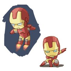 CHIBI IRON MAN IS THE MOST AMAZING THING I HAVE EVER SEEN!!!