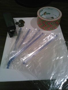 Classroom DIY: Baggie Books!  Staple pages and cover w/Fun Patterned Duct Tape