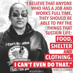 Full time labor should equal full time pay. We shouldn't blame the working poor for being poor; wages need to be raised!