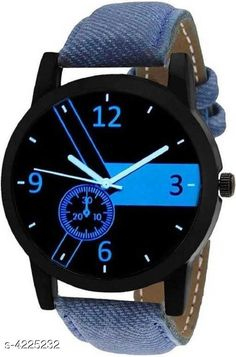 Watches Trendy Leather Men's Watches Strap Material: Leather Display Type: Analogue Size: Free Size Multipack: 1 Country of Origin: India Sizes Available: Free Size   Catalog Rating: ★4 (463)  Catalog Name: Classic Men Watches CatalogID_604109 C65-SC1232 Code: 681-4225232-423