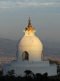 Peace Pagoda, Pokhara - Nepal