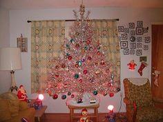 294 best aluminum christmas trees images on pinterest vintage