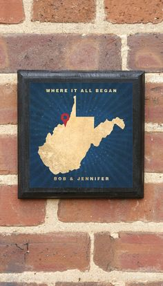 West Virginia  Where It All Began Vintage Style by CrestField