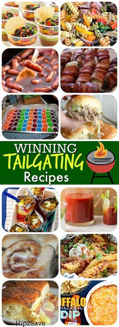 15 Winning Tailgating Recipes from Around the Web If you'll be tailgating this football season, check out these deliciously popular recipes from around the web that will have you cheering for more! Parmesan Zucchini Chips, Snacks Für Party, Appetizers For Party, Appetizer Recipes, Tailgate Appetizers, Healthy Superbowl Snacks, Tailgating Recipes, Tailgate Party Foods, Breakfast Tailgate Food