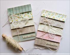 Streifen Karten   Envelopes