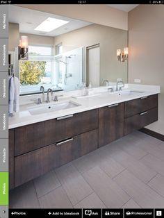 Contemporary bathrooms 358458451561279395 - Undermount Bathroom Sink Design Ideas We Love Source by Bathroom Sink Design, Undermount Bathroom Sink, Bathroom Countertops, Bathroom Vanities, Bath Design, Tile Design, Bathroom Sink Units, Bathroom Heater, 1950s Bathroom