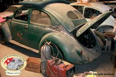 1950 Volkswagen split Beetle Cuba Today, Rusty Cars, Barn Finds, Lost & Found, Old Cars, Abandoned, Volkswagen, Antique Cars, Old Things