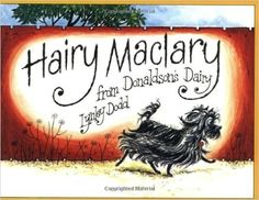 Hairy Maclary From Donaldsons Dairy Book by Lynley Dodd. Hairy Maclary goes off for a walk with a few of his friends - and comes up against a nasty surprise in the shape of Scarface Claw! My favourite character is Schnitzel Von Krumm! Best Children Books, Childrens Books, Young Children, Children Songs, Toddler Books, Books To Read, My Books, History Online, Kiwiana
