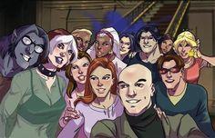 X-Men Evolution Selfie