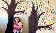 Artesanato: faça adesivos de parede usando sobras de tecido - Decoração - Casa - MdeMulher - Editora Abril