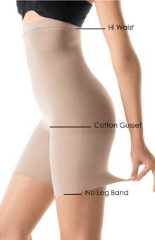 SPANX Higher Power High-Waisted Mid-Thigh Shaper 032 - SPANX Shapewear