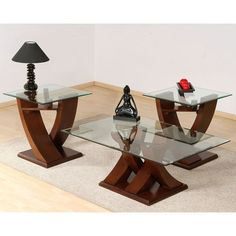 28 Fresh Glass Coffee Table and End Tables Set 2020 Glass Table Set, Glass Dining Table, Centre Table Living Room, Center Table, Bedroom Furniture Design, Table Furniture, Narrow Sofa Table, Sofa Tables, Sofa Table With Storage