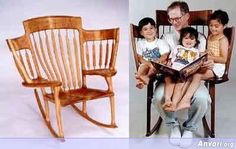 Perfect Grandparents rocker--this is one of the best things I've ever seen!