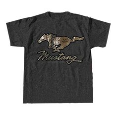 Roush Automotive Collection Store - Ford Mustang Real Tree Tee (3434), $22.95 (http://store.roushcollection.com/ford/ford-mustang-real-tree-tee-3434/)