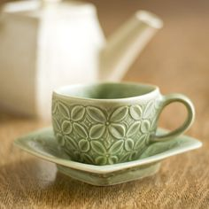 Roseberry Winn Pottery and Tile | Cup and Saucer
