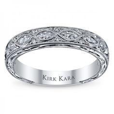 Kirk Kara K1120DB Wedding Ring