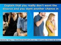 How To STOP a Divorce and SAVE The Marriage When ALL Else Fails http://iwantmyexbacktruth.com/ Learn the secrets to Stop a Divorce and Save The Marriage Today and get the free guide.    Direct Links:    Men Go To: http://www.secretstogetherback.com/    Women Go To: http://www.secretstogethimback.com/