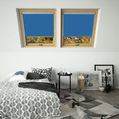 Need Navy Thermal Blackout Solar Motorised Blinds for Roto skylight windows? Our own brand blinds are fully compatible with Roto loft windows. Skylight Blinds, Skylight Window, Blinds For Windows, Skylights, Nursery Blinds, Bedroom Blinds, Thermal Blinds, Office Blinds, Blinds Direct